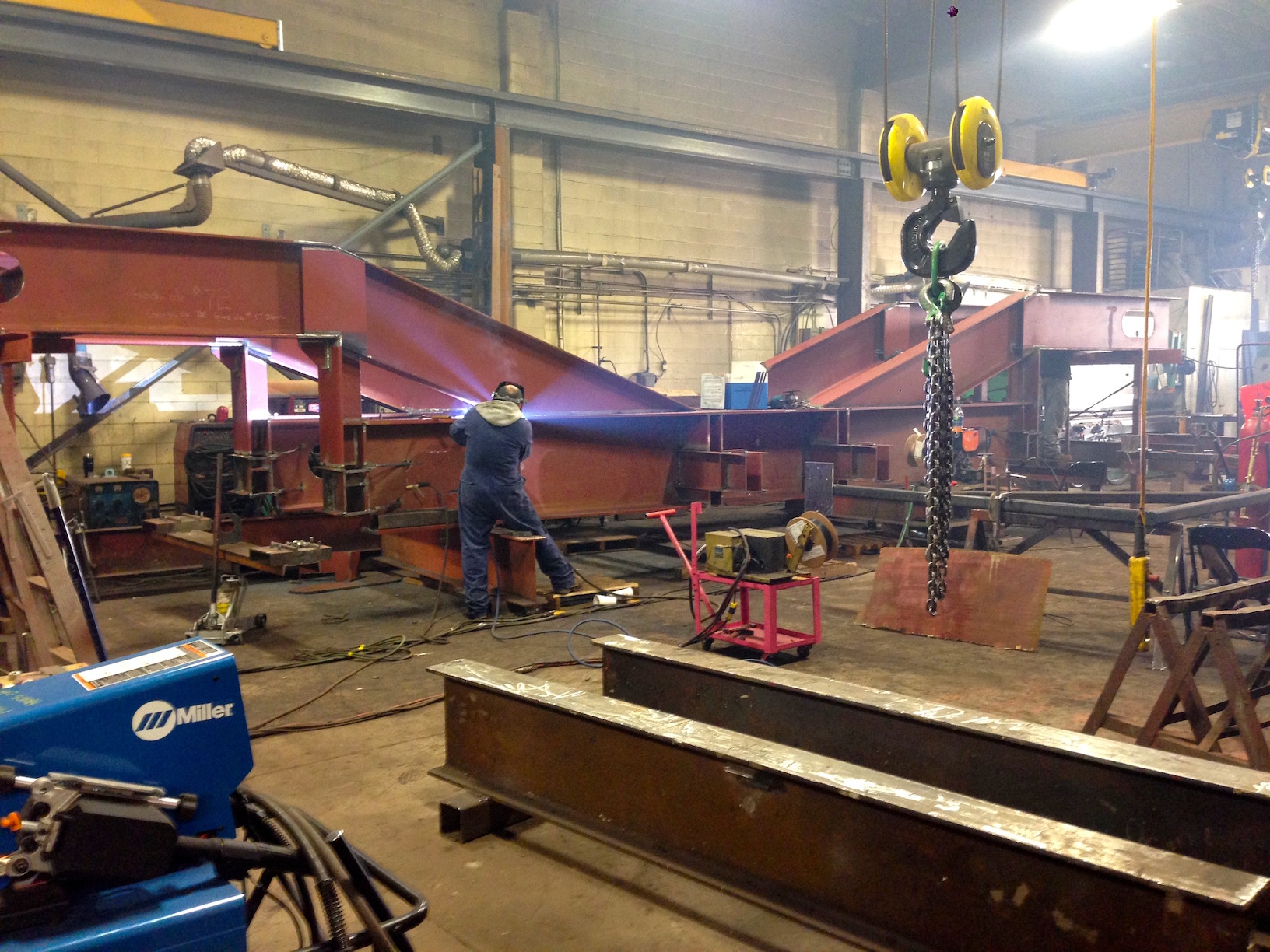 Ship Cradle Vancouver Steel Fabrication